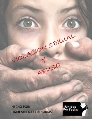 Revista Violacion Sexual Y Abuso