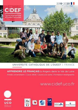 Brochure CIDEF 19/20 version française