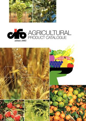CIFO Agricultural Product Catalogue 2018