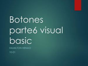 Botones Parte6 Visual Basic