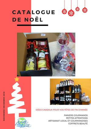 Catalogue de Noël 2018