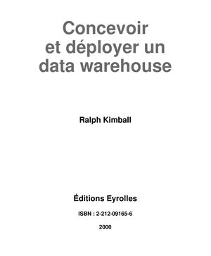 Concevoir et déployer un data warehouse - chap11.pdf