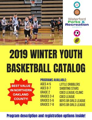 Youth Basketball Catalog 2019