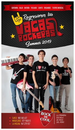 Flyer Virtual Verano 2019 RockEsCool