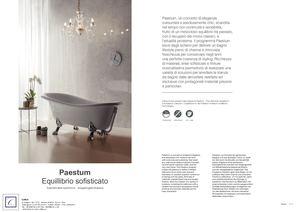 Vasca Da Bagno Globo Paestum : Calaméo globo paestum collection