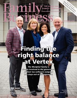 Family Business Magazine — NovemberDecember 2018