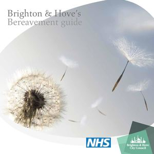 Brighton & Hove Bereavement 2015