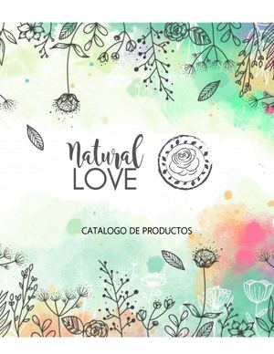 Catalogo Natural Love