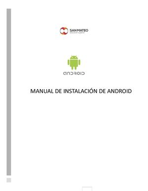 Manual De Instalacion Android