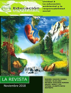 Revista Ecologia Maribel