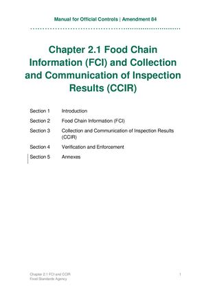 Chapter 2 1 Fci And Ccir