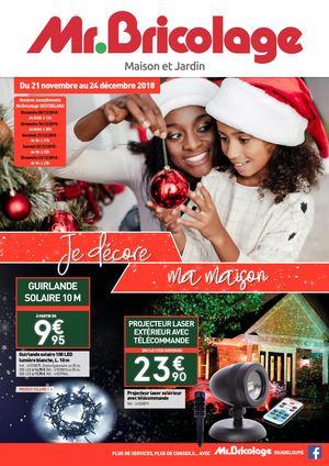 Calaméo Catalogue Noël 2018 Mr Bricolage Guadeloupe