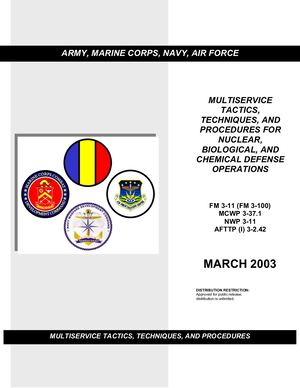 Army Manual AP Toxic Chemical Agent Safety Standards