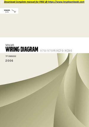 calam o volvo xc70 2006 v70 v70r xc70 xc90 wiring diagram rh calameo com