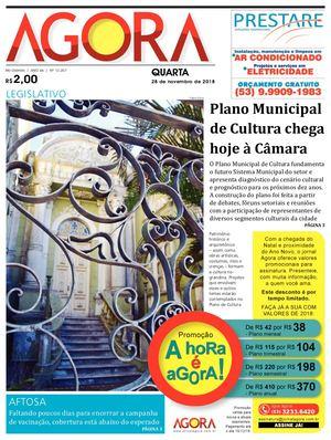 Calaméo - Jornal Agora - Edição 12207 - 28 de Novembro de 2018 073733afec70