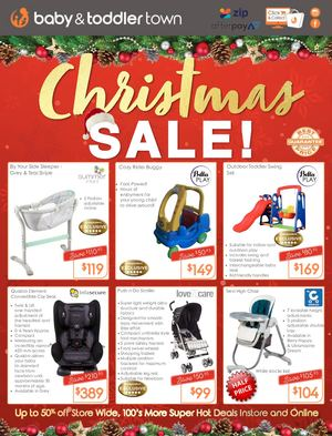 Baby & Toddler Town Christmas Sale Catalogue
