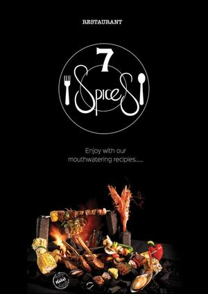 7 Spices Menu