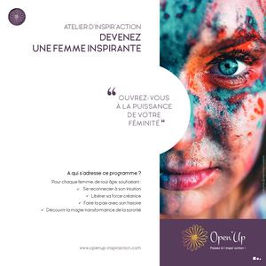 8 Femme Inspirante Inspir Action Open Up