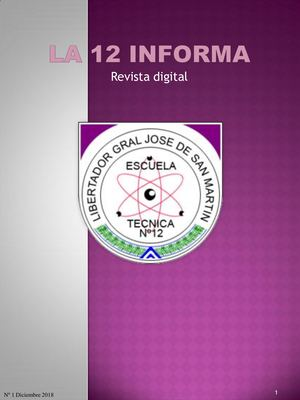 La 12 Informa Revista Digital