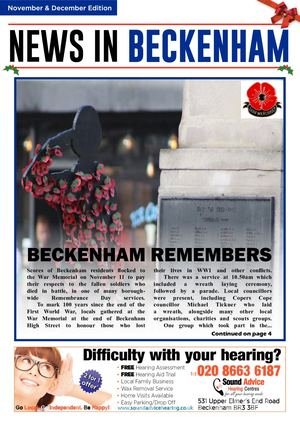 News In Beckenham Nov And Dec 2018 For Web