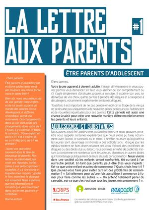 Lettre Aux Parents Numero1 25septembre2018 Lo Def