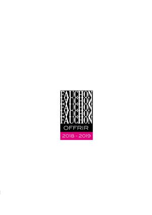 Catalogue Fauchon 2018-2019 Colibri85