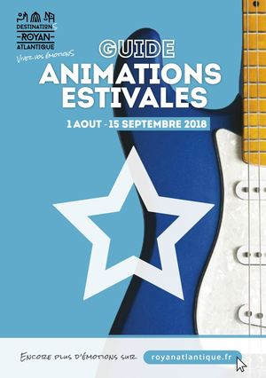 "Guide animations ""Destination Royan"" 2018"