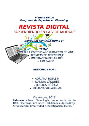 Revista Digital B Learning