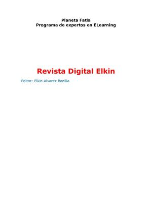 Revista Digital Elkin Alvarez