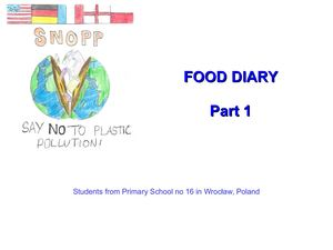 Food Diary Part1