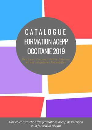 Catalogue Formation Acepp Occitanie 2019