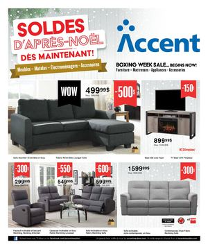 Calameo Voir La Circulaire Accent Meubles See The Flyer
