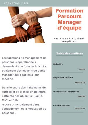 Formation Parcours Manager