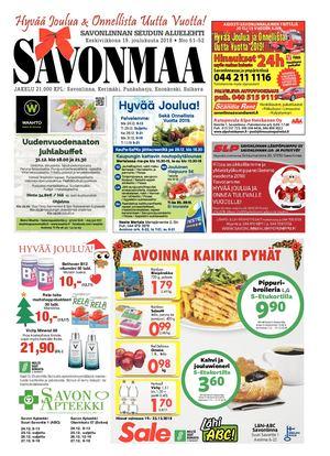 Calaméo - Savonmaa 51 19.12.2018 ddcb4e90a3