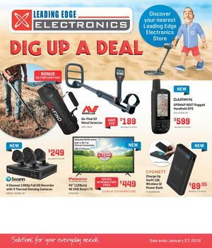 Leading Edge Electronics Parkes Catalogue January 2019
