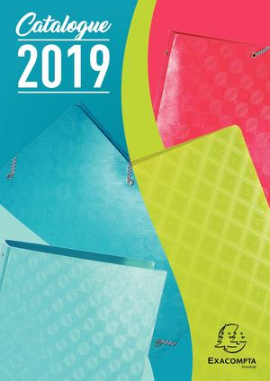 Catalogue Exacompta 2019