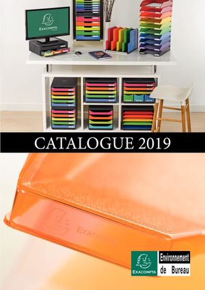 Catalogue Exacompta Environnement de Bureau 2019