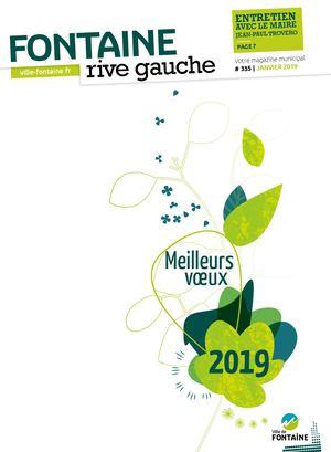 Fontaine Rive Gauche 335 Janvier 2019