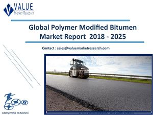 Polymer Modified Bitumen Market Size, Industry Analysis Report 2018-2025 Globally