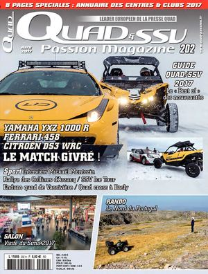 QUAD ET SSV PASSION MAGAZINE N202