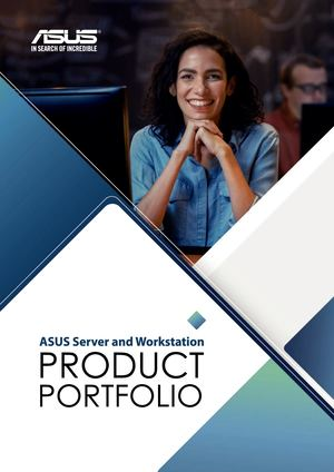 2018 Asus Server And Workstation Brochure