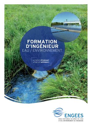 Formation Ingénieur ENGEES