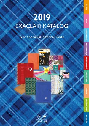 Exaclair Katalog 2019 - Clairefontaine