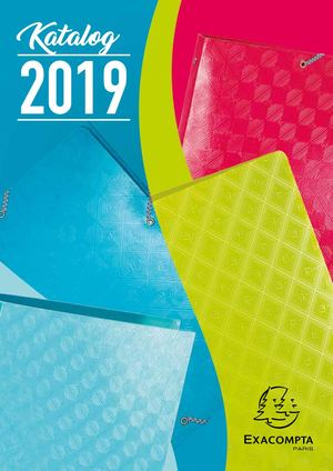 Exaclair Katalog 2019 – Exacompta