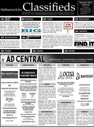 Classifieds December 25, 2018