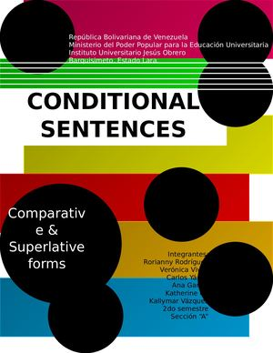Conditional Sentences Magazine