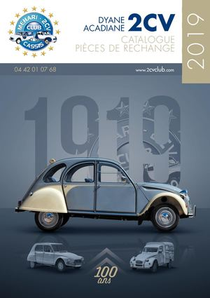 00 Catalogue 2cv 2019 Exe Mid Res