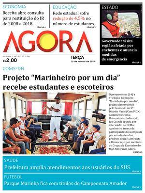 10b5058295 Calaméo - Jornal Agora - Edição 12246 - 15 de Janeiro de 2019