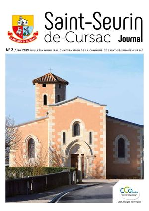 Journal Municipal Saint Seurin 2019