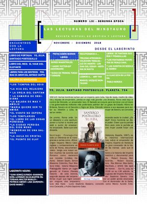 RELÁMPAGOS DE LUCIDEZ (ENSAYO nº 61)